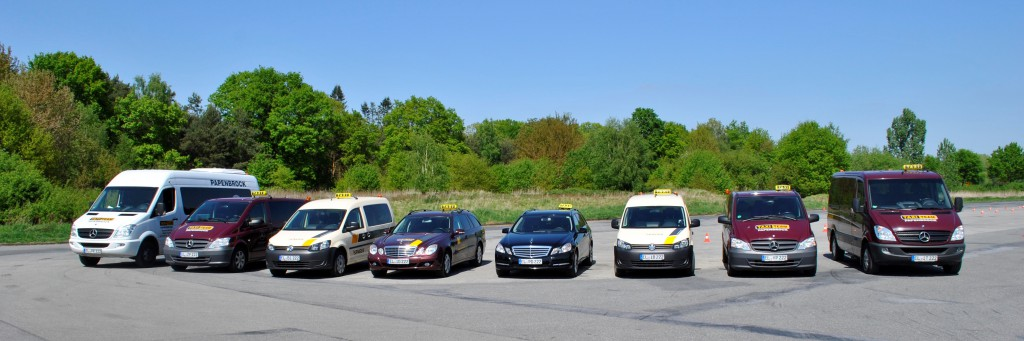 Taxi Team Papenbrock Unser Fuhrpark